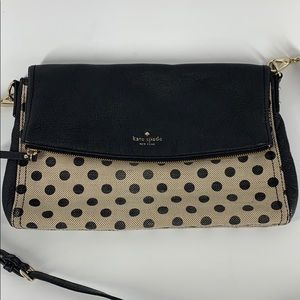 KATE SPADE Cobble Hill Canvas Leather Dot Bag